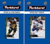 NHL Edmonton Oilers 2016 Parkhurst Team Set and All-Star Set