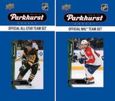 NHL Florida Panthers 2016 Parkhurst Team Set and All-Star Set