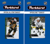 NHL Los Angeles Kings 2016 Parkhurst Team Set and All-Star Set