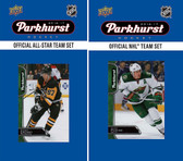 NHL Minnesota Wild 2016 Parkhurst Team Set and All-Star Set