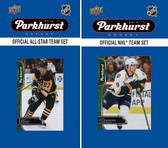 NHL Nashville Predators 2016 Parkhurst Team Set and All-Star Set