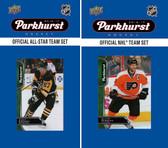 NHL Philadelphia Flyers 2016 Parkhurst Team Set and All-Star Set