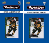 NHL Pittsburgh Penguins 2016 Parkhurst Team Set and All-Star Set