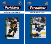 NHL St. Louis Blues 2016 Parkhurst Team Set and All-Star Set