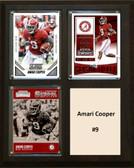 "NCAA 8""X10"" Amari Cooper Alabama Crimson Tide Three Card Plaque"