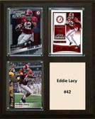 "NCAA 8""X10"" Eddie Lacy Alabama Crimson Tide Three Card Plaque"