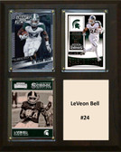 "NCAA 8""X10"" Le'Veon Bell Michigan State Spartans Three Card Plaque"