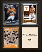 "NCAA 8""X10"" Peyton Manning Tennessee Volunteers Three Card Plaque"