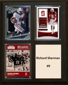 "NCAA 8""X10"" Richard Sherman Stanford Cardinal Three Card Plaque"