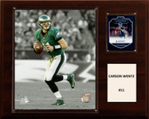 "NFL 12""x15"" Carson Wentz Philadelphia Eagles Player Plaque"