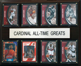 "NCAA Basketball 12""x15"" Louisville Cardinal All-Time Greats Plaque"