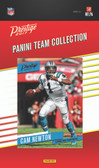 NFL Carolina Panthers Licensed 2017 Prestige Team Set.
