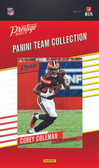 NFL Cleveland Browns Licensed 2017 Prestige Team Set.