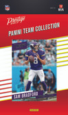 NFL Minnesota Vikings Licensed 2017 Prestige Team Set.