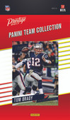 NFL New England Patriots Licensed 2017 Prestige Team Set.