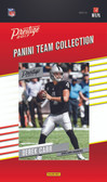 NFL Oakland Raiders Licensed 2017 Prestige Team Set.