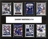 "NFL 12""x15"" Sammy Watkins Buffalo Bills 8-Card Plaque"