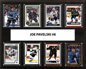 "NHL 12""x15"" Joe Pavelski San Jose Sharks  8-Card Plaque"
