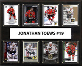 "NHL 12""x15"" Jonathan Toews Chicago Blackhawks 8-Card Plaque"