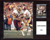 "NFL 12""x15"" John Riggins Washington Redskins Player Plaque"