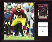 "NFL 12""x15"" Josh Norman Washington Redskins Player Plaque"