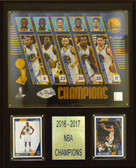 "NBA 12""x15"" Golden State Warriors 2016-2017 NBA Champions Plaque"