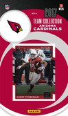 NFL Arizona Cardinals Licensed 2017 Donruss Team Set.