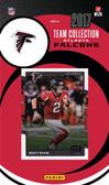 NFL Atlanta Falcons Licensed 2017 Donruss Team Set.