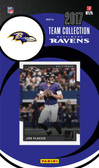 NFL Baltimore Ravens Licensed 2017 Donruss Team Set.