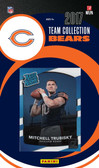 NFL Chicago Bears Licensed 2017 Donruss Team Set.