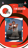 NFL Cleveland Browns Licensed 2017 Donruss Team Set.