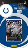 NFL Indianapolis Colts Licensed 2017 Donruss Team Set.