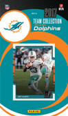 NFL Miami Dolphins Licensed 2017 Donruss Team Set.