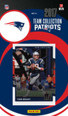 NFL New England Patriots Licensed 2017 Donruss Team Set.