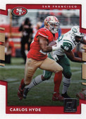 NFL San Francisco 49ers Licensed 2017 Donruss Team Set.