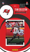 NFL Tampa Bay Buccaneers Licensed 2017 Donruss Team Set.