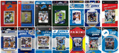 Detroit Lions14 Different Licensed Trading Card Team Sets