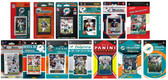 Miami Dolphins13 Different Licensed Trading Card Team Sets