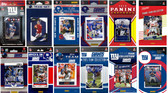 New York Giants12 Different Licensed Trading Card Team Sets