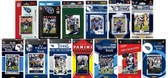 Tennessee Titans13 Different Licensed Trading Card Team Sets
