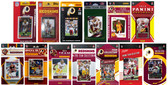 Washington Redskins13 Different Licensed Trading Card Team Sets