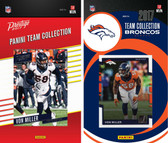 NFL Denver Broncos Licensed 2017 Panini and Donruss Team Set