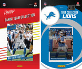 NFL Detroit Lions Licensed 2017 Panini and Donruss Team Set
