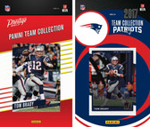 NFL New England Patriots Licensed 2017 Panini and Donruss Team Set