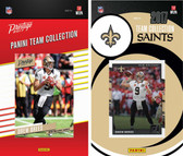 NFL New Orleans Saints Licensed 2017 Panini and Donruss Team Set