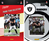 NFL Oakland Raiders Licensed 2017 Panini and Donruss Team Set
