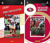 NFL San Francisco 49ers Licensed 2017 Panini and Donruss Team Set