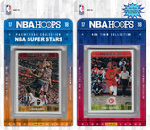 NBA Los Angeles Clippers Licensed 2017-18 Hoops Team Set Plus 2017-18 Hoops All-Star Set