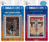 NBA Chicago Bulls Licensed 2017-18 Hoops Team Set Plus 2017-18 Hoops All-Star Set