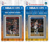 NBA Golden State Warriors Licensed 2017-18 Hoops Team Set Plus 2017-18 Hoops All-Star Set